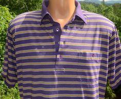 vintage 70s polo golf shirt stripes ARNOLD PALMER by skippyhaha