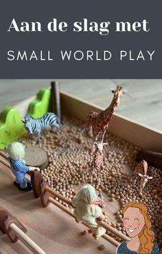 Aan de slag met de speeltafel | Klas van juf Linda Small World Play, Stage, School, Blog, Blogging
