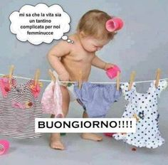 Good Morning Sister, Good Morning Funny, Good Morning Good Night, Day For Night, Italian Quotes, Yorkshire Terrier Puppies, New Years Eve Party, Emoticon, Happy Friday