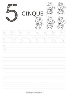 Schede di Pregrafismo dei Numeri da 0 a 9 da Stampare | PianetaBambini.it Preschool Number Worksheets, Numbers Preschool, Angel Coloring Pages, Dads, Counting, Leo, Preschool, Autism, Tecnologia
