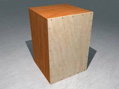 How to Build a Cajon drum -- my husband and kids did this today with scrap wood. It only took about an hour and sounds really good! Cajon Musical, Wood Projects, Woodworking Projects, Homemade Musical Instruments, Music Instruments, Cajon Drum, Diy Drums, Drum Music, Guitar Building