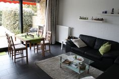 Das gemütliche Wohn-/Esszimmer im Ferienhaus in Tossens