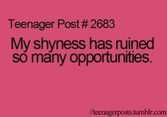 Shy Quotes. QuotesGram