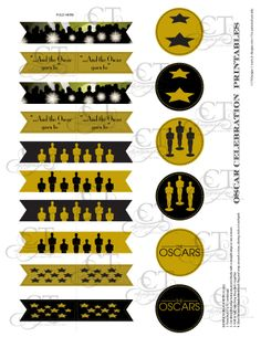 """""""...And the Oscar goes to!"""" Check out these Oscar Party Printables. #Oscars #AcademyAwards  https://www.etsy.com/listing/173052668/academy-awards-oscars-party-printables?ref=shop_home_active"""