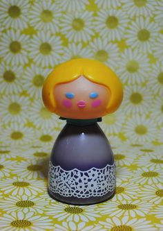 Vintage Avon Small World cologne mist bottle from the early 1970s. She still has some old perfume in her (not the best smell), but makes for a