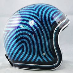Candy Blue Lines (http://www.crownhelmets.co/)