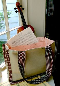 Music Bag - the purl bee