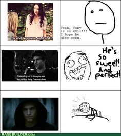 I loved Toby from the first episode I knew he could do no wrong # heartbreak #spoby forever: