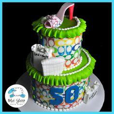 50th Birthday Coach Cake