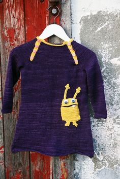 Instead of monster do totoros on sweater