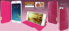 FUNDA iPHONE 6/6S FRAMASLIM COCODRILO. +Colores
