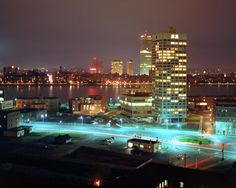 Eastgate, Kendall Square, and Boston Skyline. Late Fall, 1967.   Flickr - Photo Sharing!