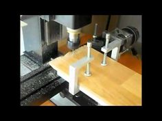 Cutting Wooden Plate with Sherline