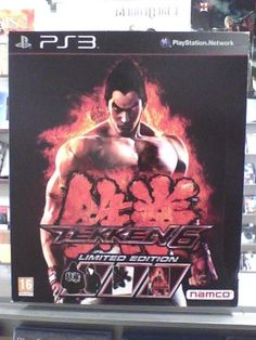 Tekken 6 Limited  Edition  PLAYSTATION 3 ( PS3 ) nuovo!!!