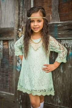 Lace Dress  The Delilah Dress Girls Dress  by SweetHavenCouture, $39.99  GREAT IDEA FOR HAILEYS DRESS