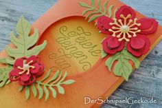 derschnipselgecko Stampin Up Pflanzen Potpourri- Designer Grußelemente mandarinorange botanical Bloom http://dini.derschnipselgecko.com/category/meine-kreationen/stampin-up-designer-grusselemente/