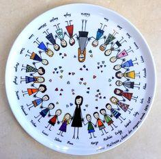 General Crafts, Nursery Room, Creations, Plates, Ideas, Porcelain Ceramics, Mud, Pintura, Crafting