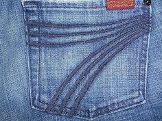 Women's 7 FOR ALL MANKIND Dojo Flare Jeans Size 29 x 32 ...
