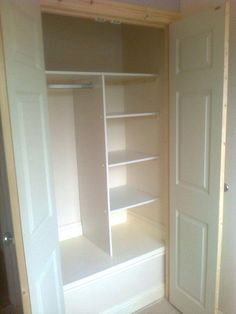 Trendy Ideas for bedroom storage closet organisation dressing rooms Bulkhead Bedroom, Stairs Bulkhead, Built In Cupboards, Bedroom Cupboards, Cupboard Design, Cupboard Storage, Closet Bedroom, Bedroom Storage, Closet Office