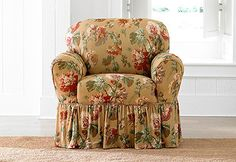 Sure Fit Slipcovers Stretch Leanne One Piece - Chair