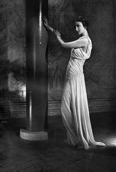 Photo by Horst P. Horst, 1935.