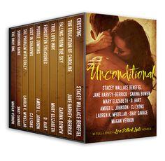 Ellie reads fiction - Unconditional anthology of 10 romances with focus on struggle
