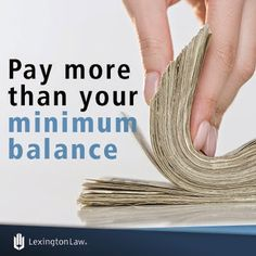 Credit-Tip-Tuesday!  This can be done by paying a large sum once a month or making small payments every other week.