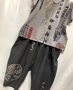 # Corporate Flags # Banners # Moisturized # Iron Mordant # Hand Wash Gaucho - All About Simple Outfits, Cool Outfits, Asian Fabric, Modern Kimono, Elisa Cavaletti, Altering Clothes, Recycled Fashion, Oriental Fashion, Clothing Hacks