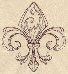 Fleur-De-Lis Designs | Fleur de lis