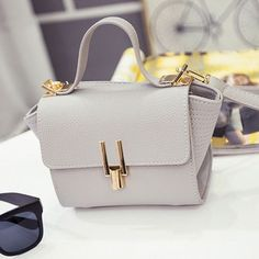 New Women Handbag Synthetic Leather Flap Bag Casual Party Soft Shoulder Bag Messenger Bag