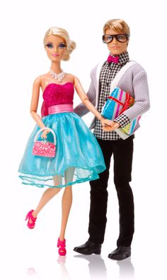 charitybuzz | Barbie™ Very Merry Cabin Barbie and Ken