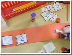 Sequencing numbers activity