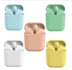 Off - Today Only) Macaron Beatpods – Deals-o-saur Bluetooth Headphones, Wireless Headphones, Usb, Sports Headphones, Android, Smart Bracelet, Noise Cancelling, Macarons, Apple Watch