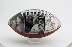 Customized football with your own pictures and text. A gift that your boyfriend, girlfriend, husband or wife would love. Get creative and design yours with Make A Ball.