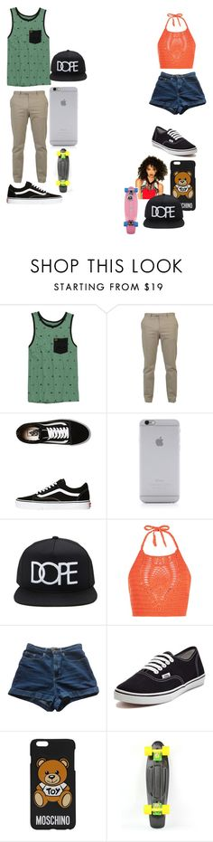 """""""date"""" by destgreen ❤ liked on Polyvore featuring HippyTree, Gucci, Vans, Native Union, 21 Men, New Look, American Apparel and Moschino"""