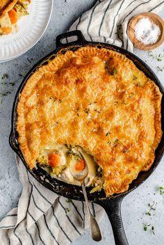 Broccoli Cheddar Chicken, Broccoli And Cheese, Broccoli Dishes, Quiches, Pie Recipes, Chicken Recipes, Kitchen Recipes, Dinner Recipes, Recipes