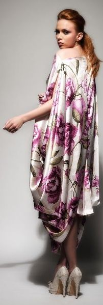 Rami Kadi ~would like to make a dress out of this fabric= meow!