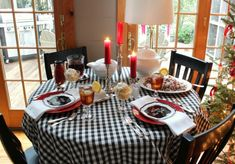 New Years Day table