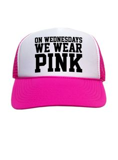 On Wednesdays We Wear Pink Trucker Hat