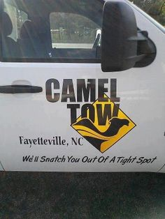 camel tow, in NC? Naw way! Never woulda guessed. Do they deal with only local picks, or are they nationwide? Hahaha