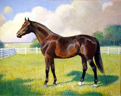 HELIOPOLIS by George Ford Morris   American Saddlebred Museum 2007 Auction