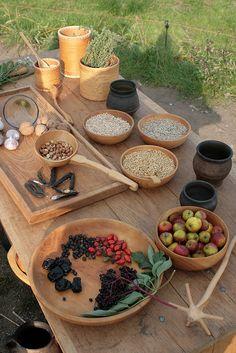 Haithabu - wikingerzeitliche Lebensmittel präsentiert von Beate Stein.