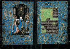 The Morgan Library & Museum Online Exhibitions - The Black Hours - Pentecost, Hours of the Holy Spirit: Matins