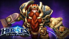 Heroes Of The Storm: Muradin Melee Warrior Gameplay Build - Untouchable ...