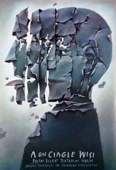 Wiesław Wałkuski, Polish Theater Posters 1980-90 Exhibition Poster, 2006
