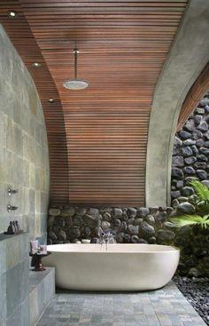 Le Modèle De Salle De Bain Extérieur  Pureté Pour Lu0027esprit Et Le Corp    Archzine.fr. Bathroom Ideas 2015Bathroom DesignsOutside ...