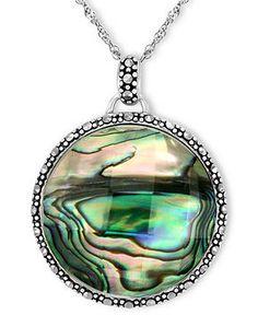 Goldia Sterling Silver Green CZ /& Marcasite Cross Pendant