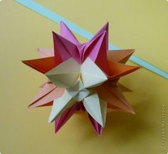 Kusudama Origami Master Class Kusudama Ostrun Master Class Photo Paper 1