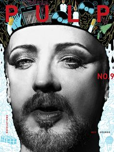 PULP No.9out now ! Order HERE Featuring Boy George / Sophie Touchet / Not Vogue / Erik Hassle / Viviane Sassen / Peter Gray / G-Eazy / and more...    share