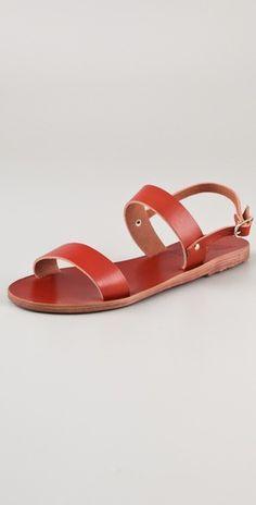 64f90c5d591d24 Ancient Greek Sandals Clio Flat Slide Sandals Slide Sandals
